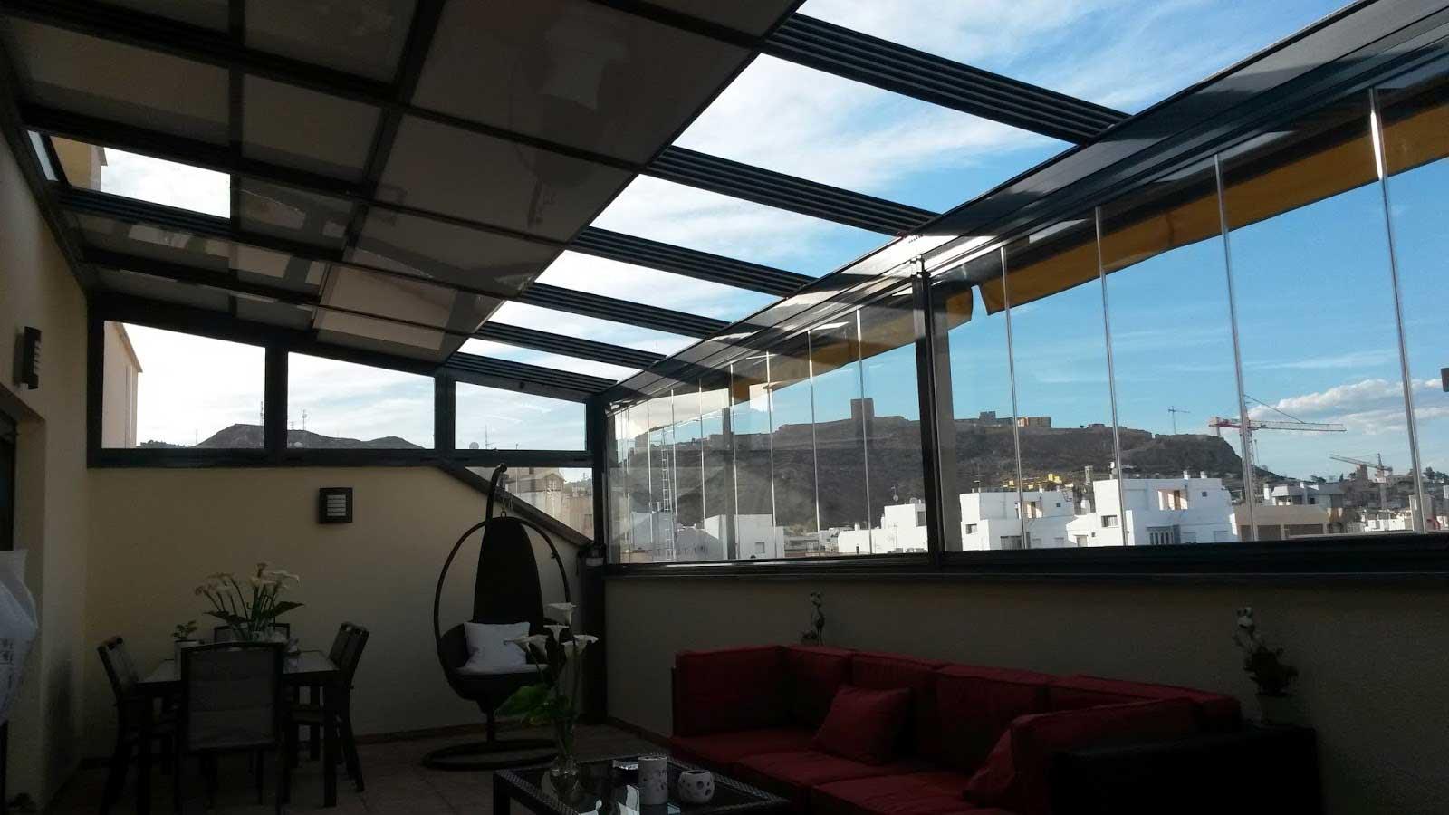 En la terraza trabajamos para una pelicula traviesa - 3 part 6