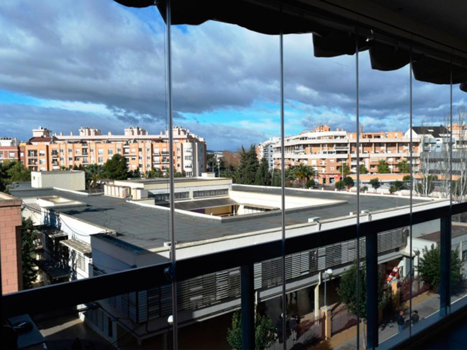 Cubiertas de cristal para terrazas perfect terrazas para - Cubiertas de cristal ...