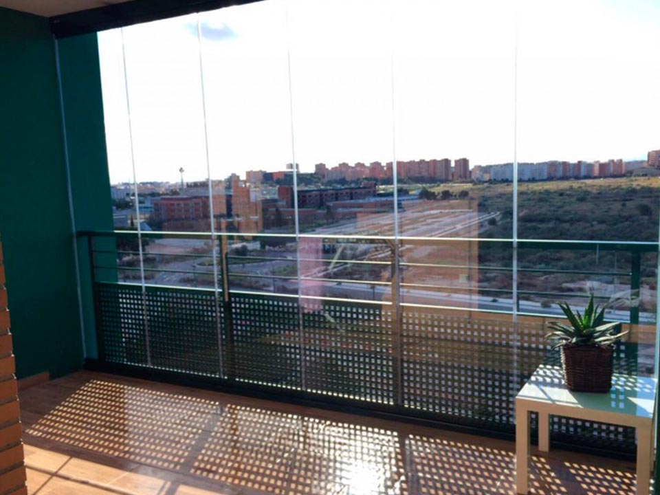 Cristales para terrazas instalacin de en madrid ue with - Cristales para terrazas ...